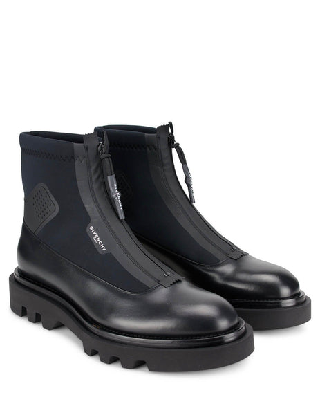 Givenchy Men's Giulio Fashion Black Combat Boots BH601ZH0NN-001