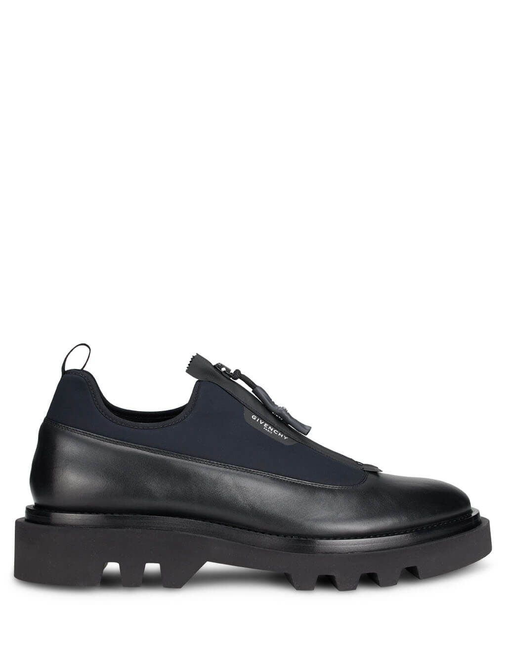 Givenchy Men's Giulio Fashion Black Combat Derby Shoes BH1029H0NN-001