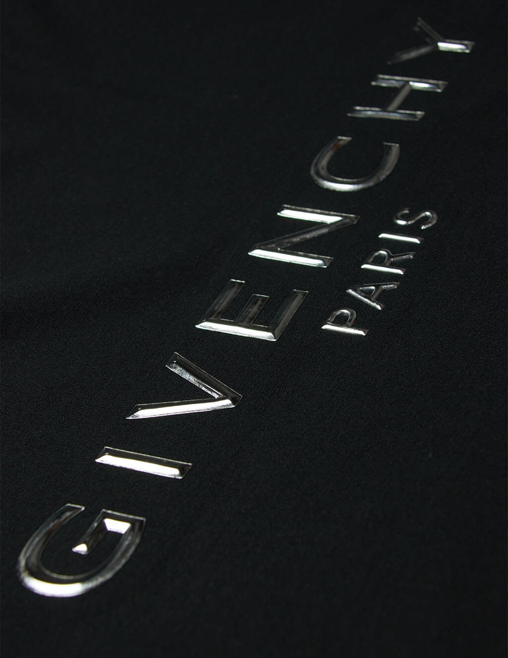 Men's Black Givenchy Embossed T-Shirt BM70WV3002 001