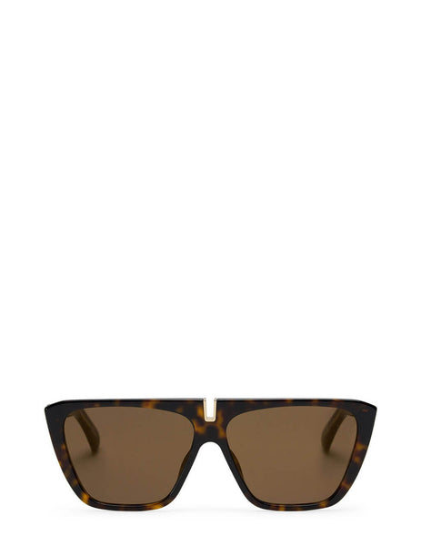 Givenchy Women's Havana Brown GV 7109/S Sunglasses GV 7109/S - 9N4-VP