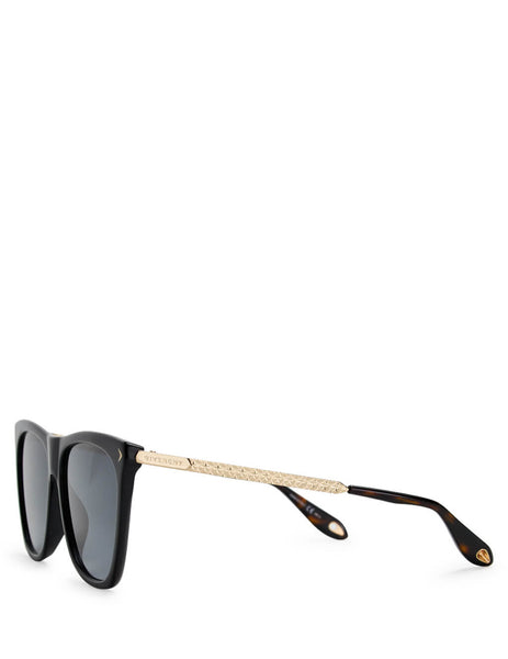 Givenchy Eyewear Women's Giulio Fashion Black Acetate Sunglasses GV7096S807