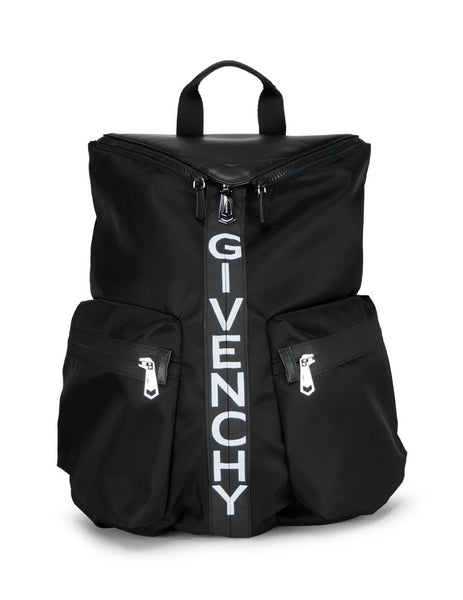 Men's Black Givenchy Nylon Spectre Backpack BK507EK0YM-004