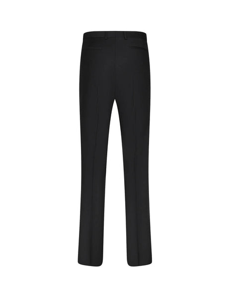 Givenchy Men's Black Wool Twill Trousers BM50PD1Y8K-001
