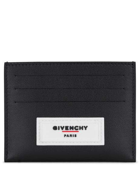 Givenchy Men's Giulio Fashion Black 3CC Card Holder BK6003K0VA004