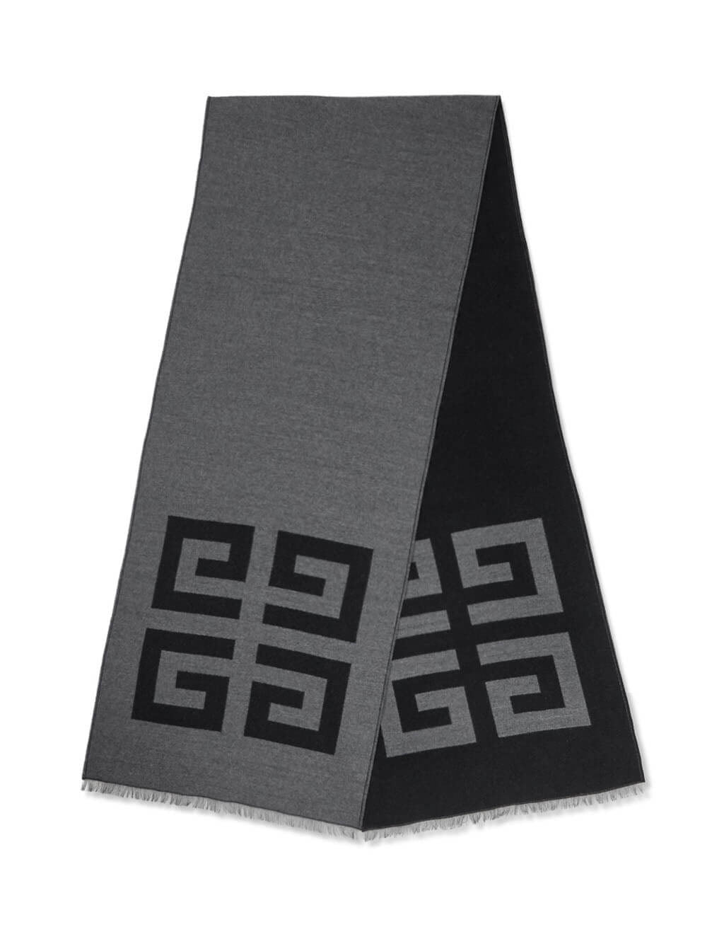 Givenchy Men's Giulio Fashion Black 4G Scarf BP000P1Y46002