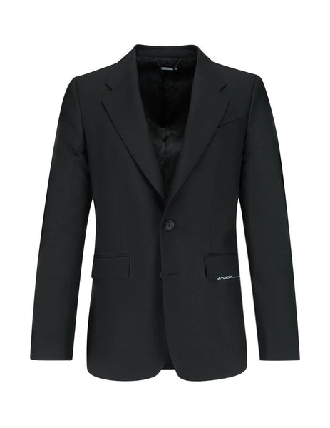 Givenchy Men's Giulio Fashion Black Atelier Wool Single-Breasted Jacket BM307P100B001
