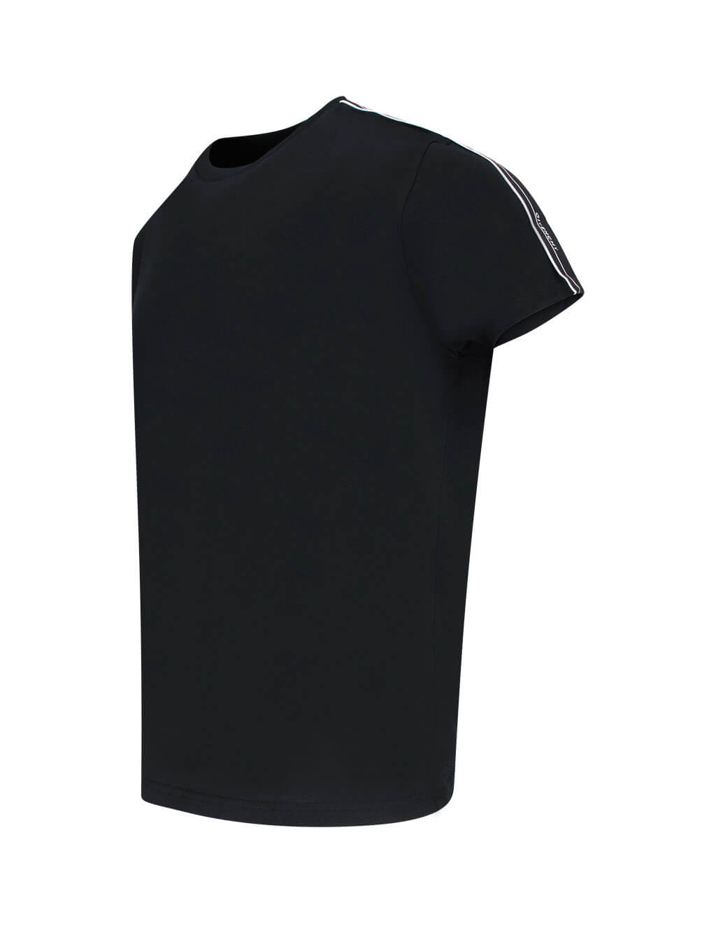 Givenchy Men's Giulio Fashion Black Band Sleeve T-Shirt BM70UJ3002 001