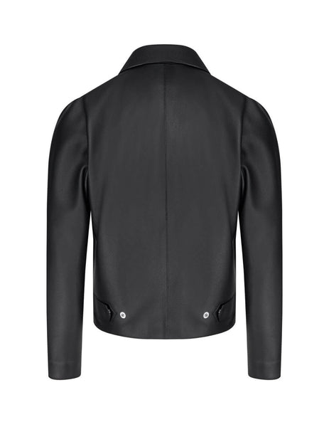 Men's Givenchy Blouson Leather Jacket in Black. BM00K760TH-001