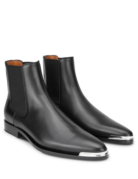 Givenchy Men's Black Dallas Chelsea Boots BH6016H0F6001