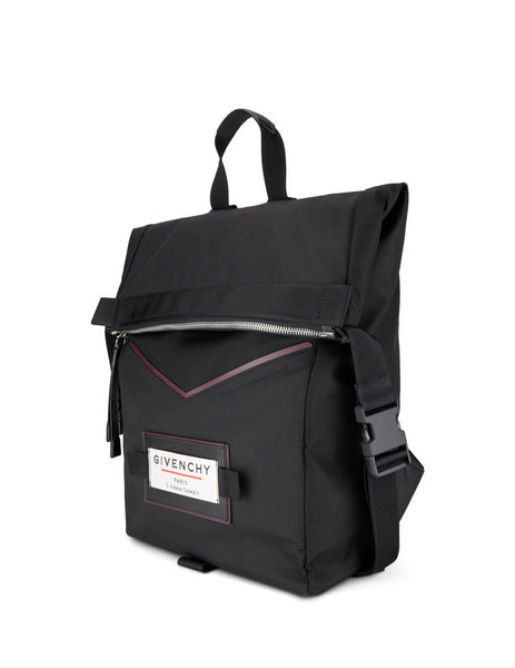 Givenchy Men's Giulio Fashion Black Downtown Backpack BK505TK0S9 001