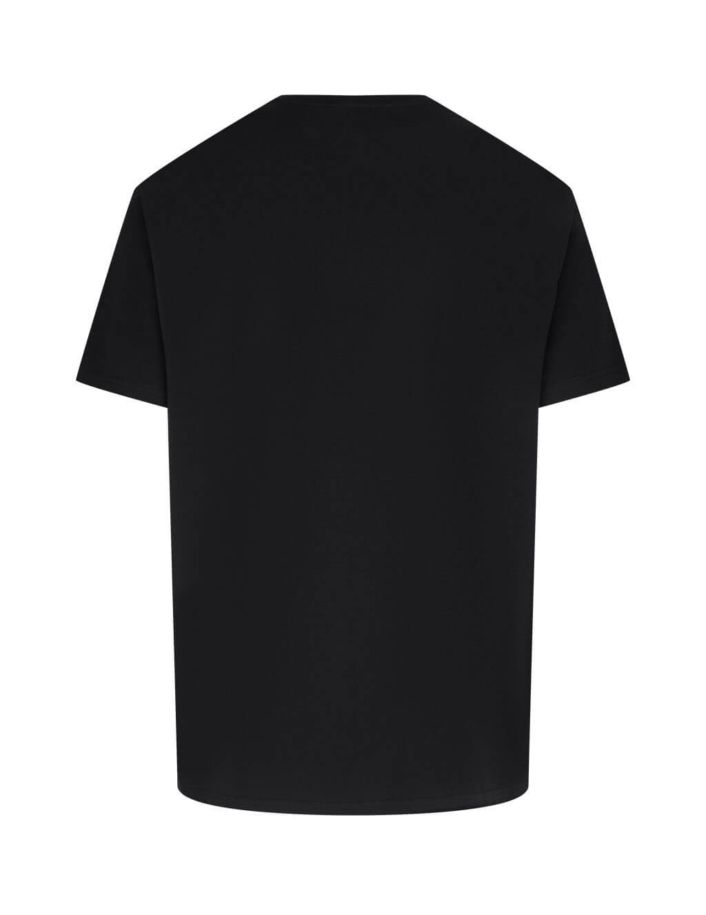 Men's Givenchy Latex Band T-Shirt in Black - BM70ZR3002-001