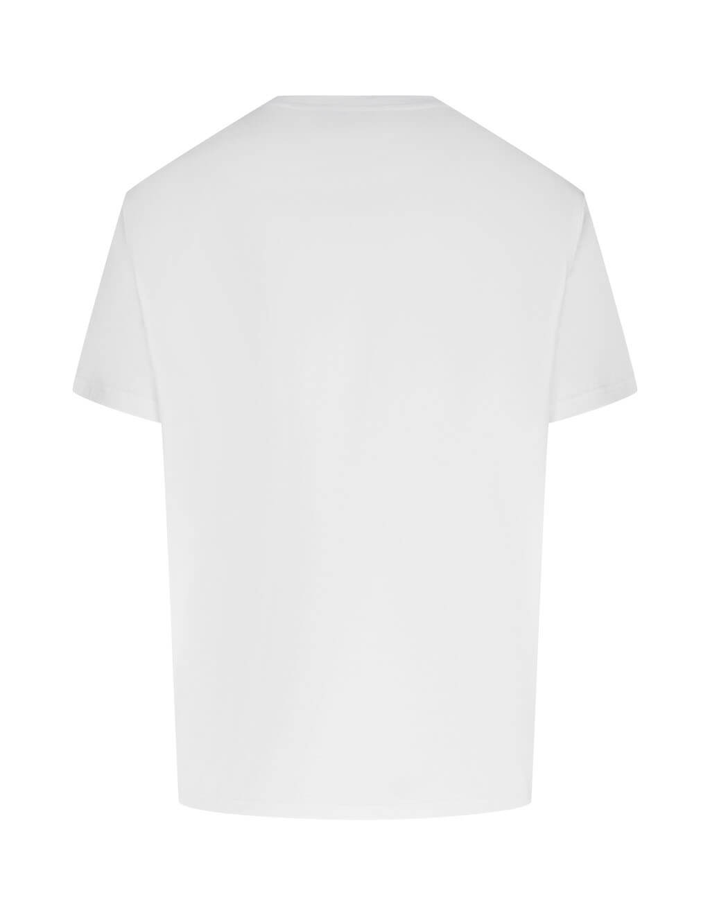 Men's Givenchy Latex Band T-Shirt in White - BM70ZR3002-100