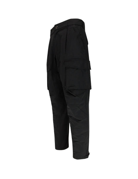 Men's Givenchy Multipocket Cargo Trousers in Black BM50JP12M4-001