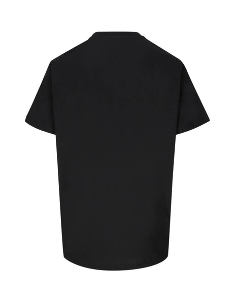 Givenchy Men's Giulio Fashion Black Question T-Shirt BM70UP3002 001