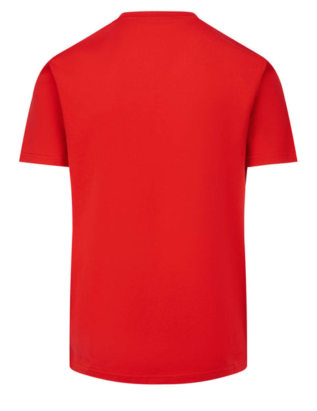 Men's Givenchy Refracted Motif T-Shirt in Red/Black - BM70YC3002-606