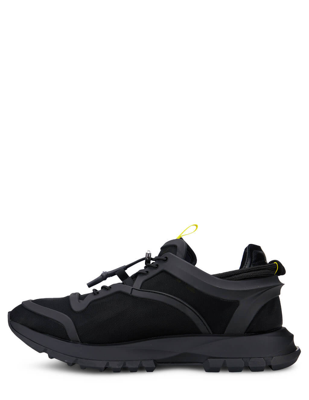 Men's Black Givenchy Spectre Runner Cage Sneakers BH003EH0PY-001