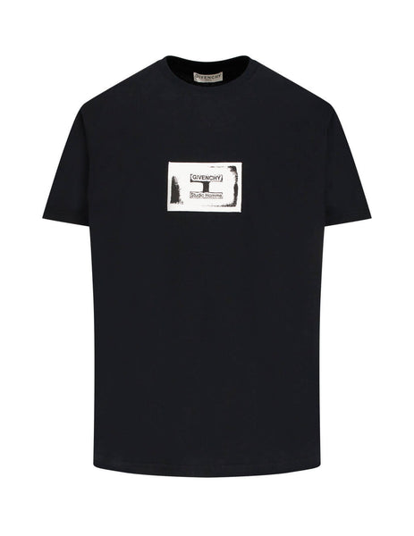 Givenchy Men's Giulio Fashion Black Studio Homme T-Shirt BM70UQ3002 001