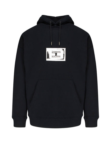 Givenchy Men's Giulio Fashion Black Studio Homme Hoodie BMJ05R30AF 001