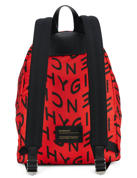 Givenchy Men's Red Urban Backpack BK500JK12P