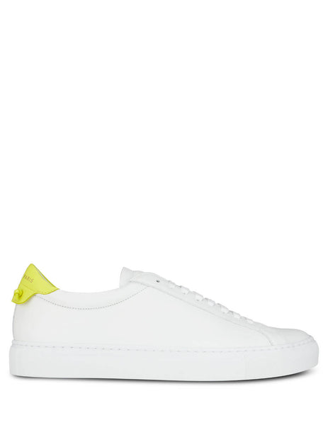 Givenchy Men's Giulio Fashion White Urban Street Sneakers BH0002H0FS-111