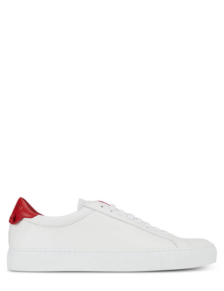 Givenchy Men's White Urban Street Sneakers BH0002H0FS112