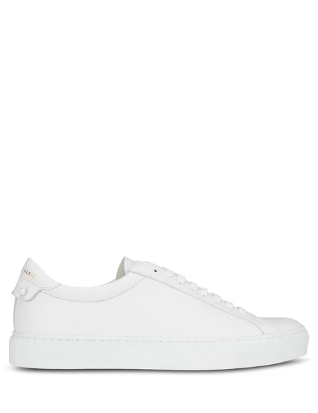 Givenchy Men's Giulio Fashion White Urban Street Sneakers BH0002H0FT-100