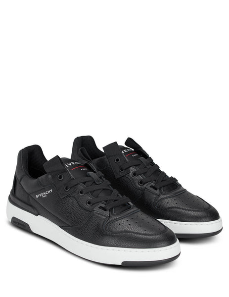 Givenchy Men's Giulio Fashion Black Wing Low Sneakers BH002KH0KP-004