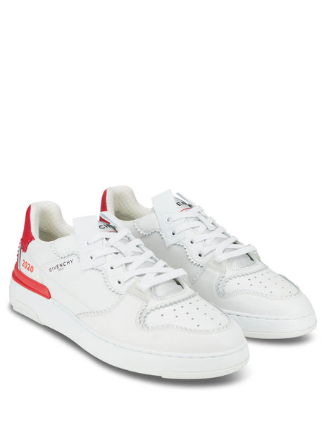 Givenchy Men's Giulio Fashion White Wing Low Sneakers BH003RH0PJ-112