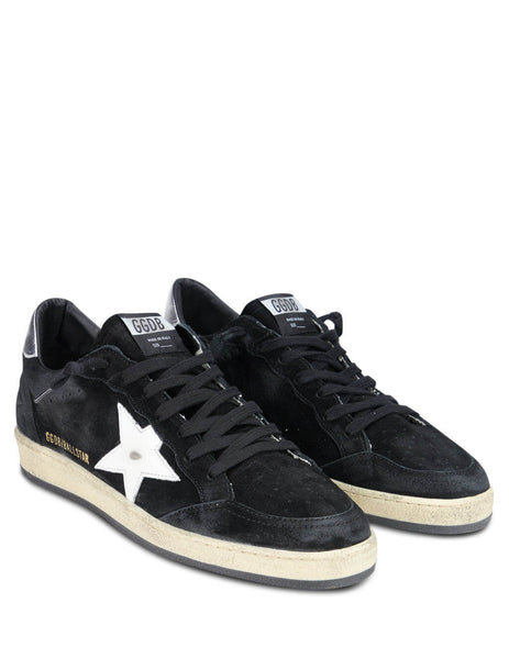 Golden Goose Deluxe Brand Men's Giulio Fashion Black Ball Star Sneakers G35MS592Z4