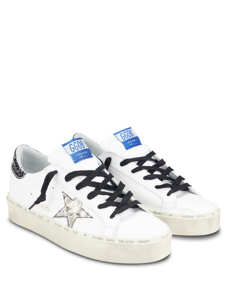 Golden Goose Deluxe Brand Women's Giulio Fashion White Hi Star Sneakers G35WS945G8