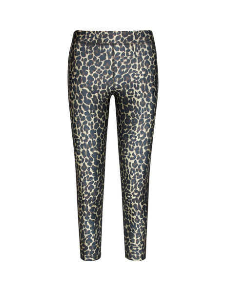 Golden Goose Deluxe Brand Women's Giulio Fashion Beige Leopard Leggings G35WP185A5