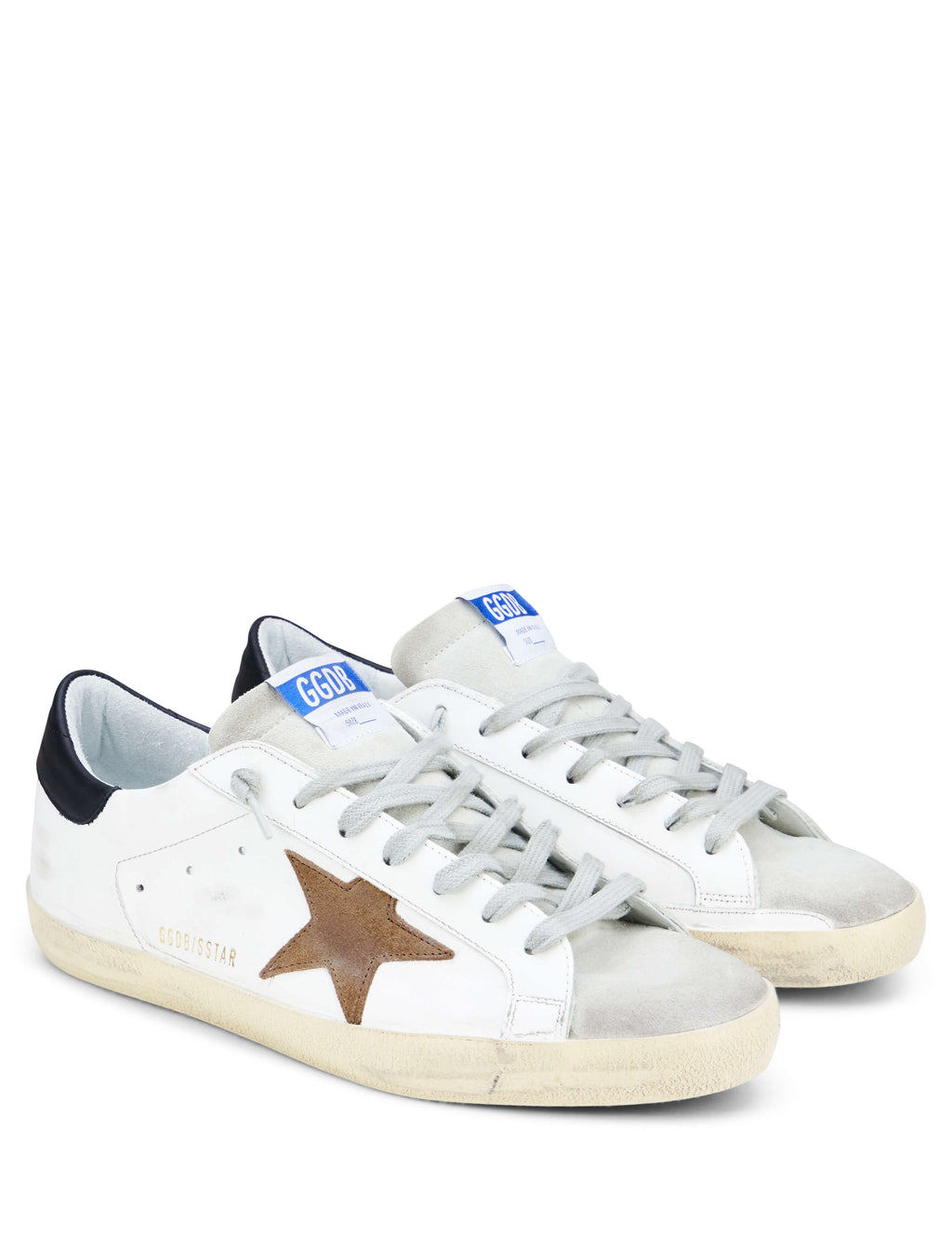 Golden Goose Deluxe Brand Men's Giulio Fashion White Superstar Sneakers G34MS590N12
