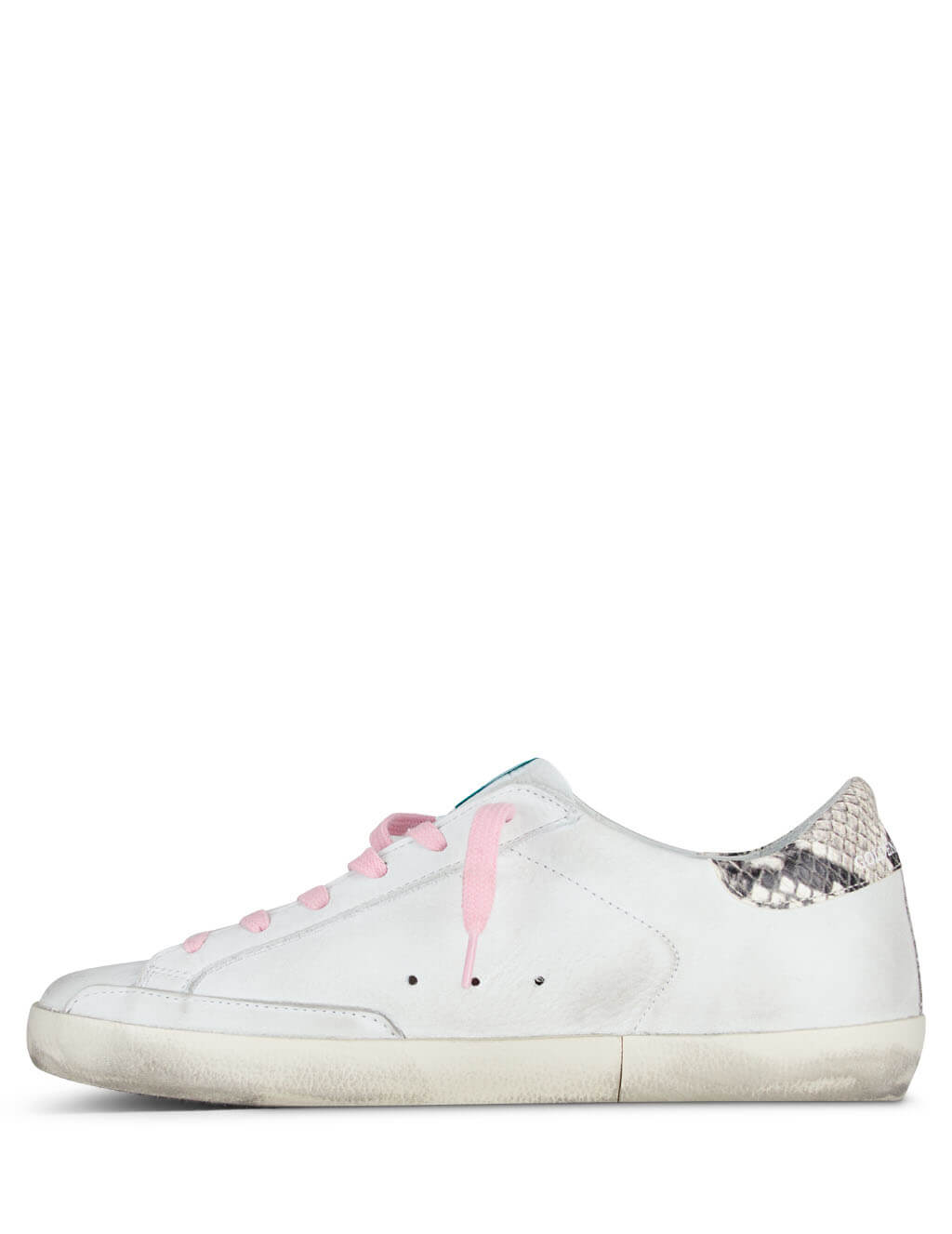 Golden Goose Deluxe Brand Women's Giulio Fashion White Superstar Sneakers G36WS590.V38