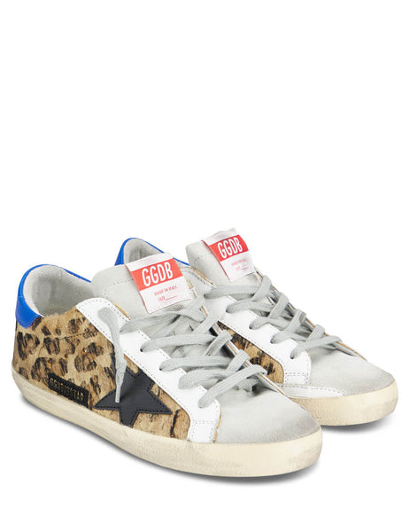 Golden Goose Deluxe Brand Women's Giulio Fashion Brown Superstar Sneakers G35WS590P85