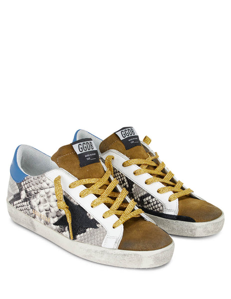 Golden Goose Deluxe Brand Women's Giulio Fashion Brown Superstar Sneakers G35WS590R77