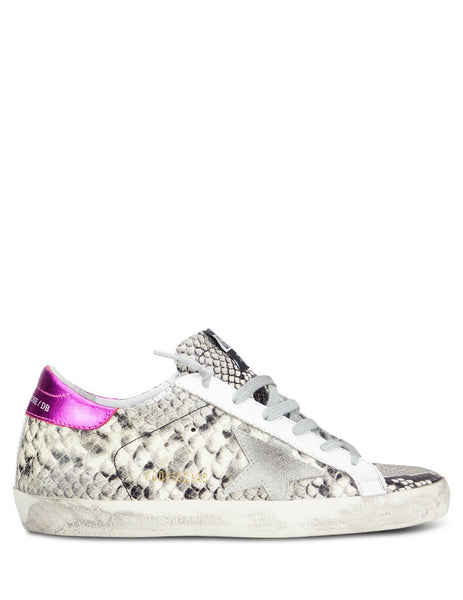 Golden Goose Deluxe Brand Women's Giulio Fashion Grey Superstar Sneakers G35WS590P41