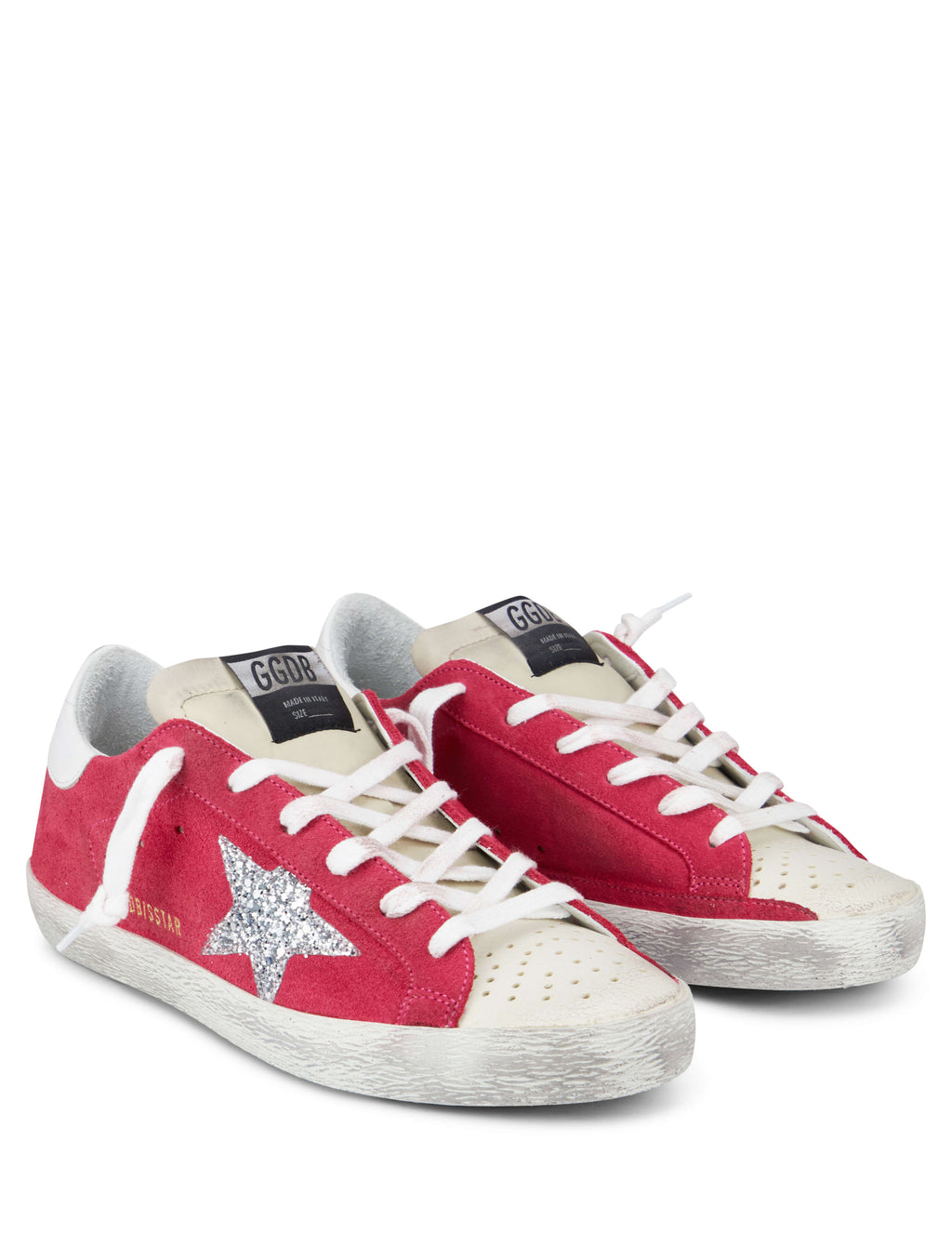 Golden Goose Deluxe Brand Women's Giulio Fashion Strawberry Superstar Sneakers G34WS590O49