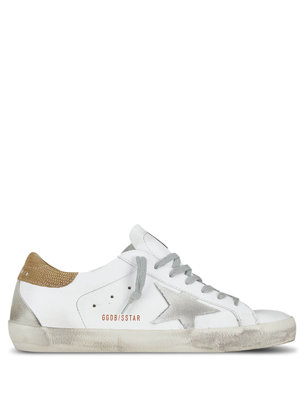 Golden Goose Deluxe Brand Men's Giulio Fashion White Superstar Sneakers G36MS590.S78