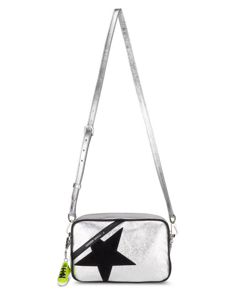 Golden Goose Metallic Leather and Suede Star Bag GWA00101.A000212.60246