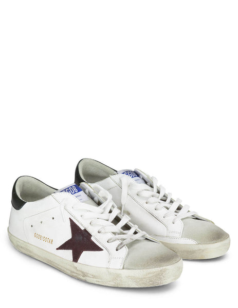 Golden Goose White/Red/Green Super-Star Sneakers GMF00101.F000338.80303