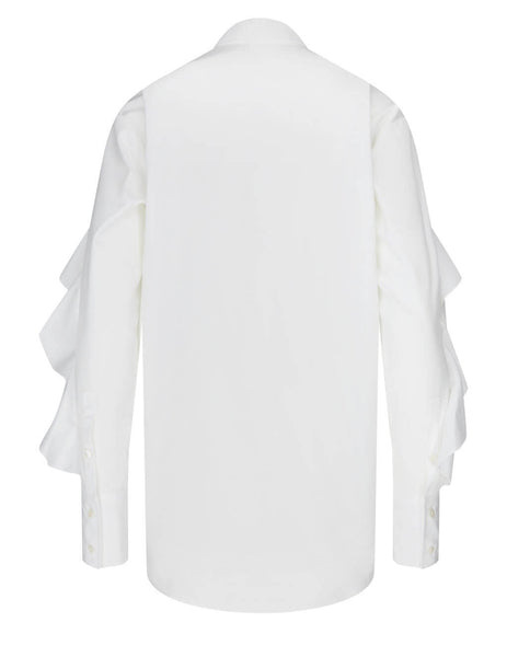 Golden Goose Women's Optic White Beata Shirt GWP00498.P000333.10100