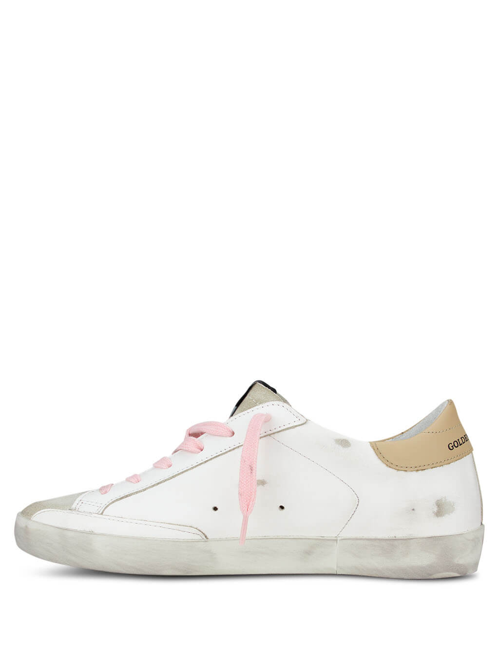 Golden Goose Women's Giulio Fashion White Superstar Sneakers GWF00101.F000124.80165