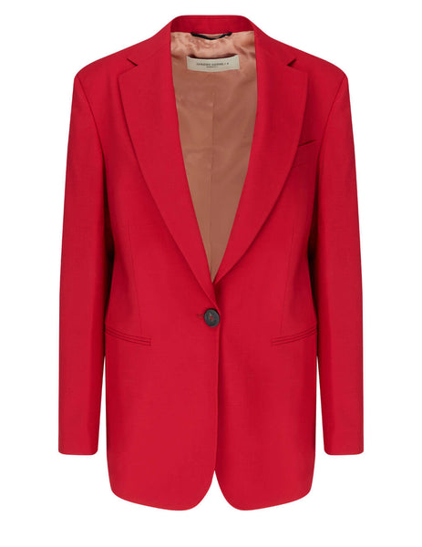 Golden Goose Women's Tango Red Tom Boy Bova Blazer GWP00577.P000180.40263