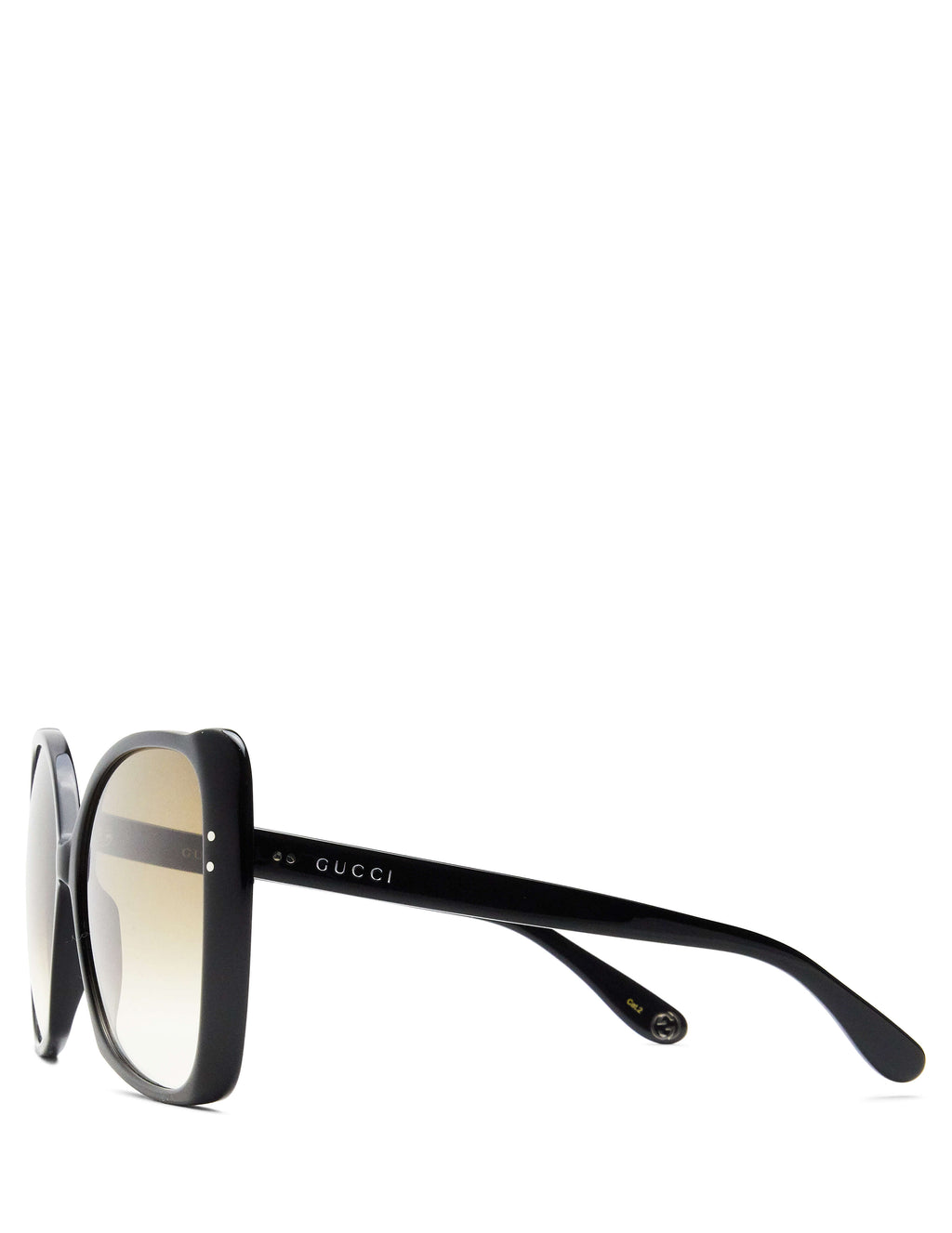 Gucci Eyewear Women's Giulio Fashion Black Oversize Square-Frame Sunglasses GG0471S001