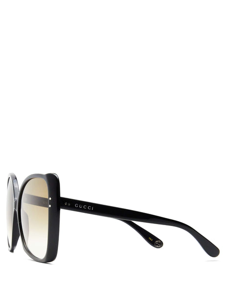 Gucci Women's Giulio Fashion Oversize Square-Frame Sunglasses GG0471S001