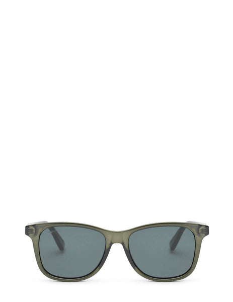 Unisex Gucci Eyewear Square Sunglasses in Grey - GG0936S001