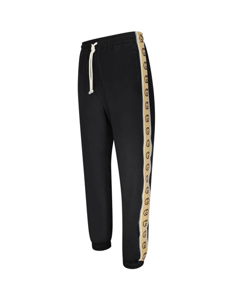 Gucci Men's Black Technical Jersey Joggers 598858xjbz81082
