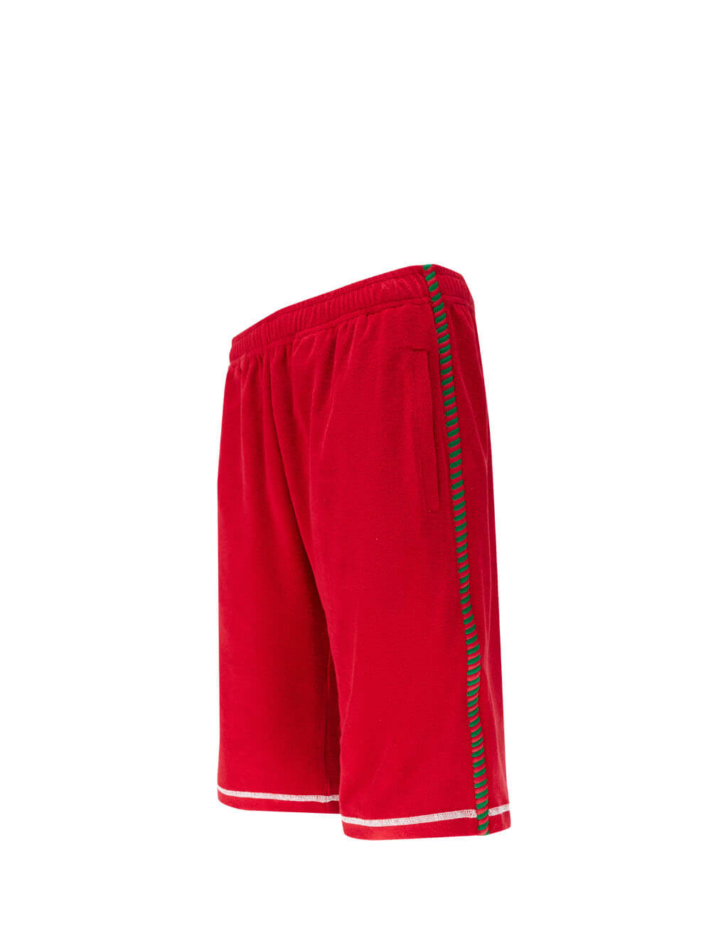 Men's Gucci Basket Sweatpant Shorts in Live Red 599352 XJB6Y 6229
