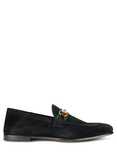 Gucci Men's Giulio Fashion Black Brixton Loafers 581513 1M620 1074