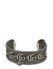 Gucci Men's Sterling Silver Double G Cuff 577296